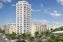 HIGH WEST / HIGH WEST: Hell und luftig wohnen wie auf Wolke 7! Harmonisches Häuserensemble für individuelle Wohnideen. Mehr Infos zum Projekt unter: http://bit.ly/high-west
