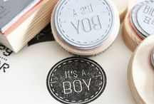 INSPIRATION Baby Birth / Inspiration for baby cards, baby gifts and DIY things regarding baby birth