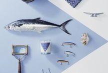 Blue K. / #couleurbleue #décorationdintérieure #mobilier #accessoire #vaisselle #indigo #navy #marine