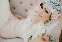 Vintage Inspired Weddings / Vintage weddings are so gorgeous and stunningly classy.  I love the decor that goes with the vintage wedding.  Pearls, crystal, lace, and elegance.