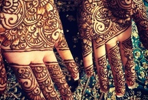 The Art of Mehndi / The Ceremonial art form of Mehndi was originated in ancient India and are intricate patterns temporary tattoos typically applied to brides before wedding ceremonies.