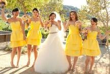 Bright Yellow Weddings / Ideas for your dreamed Wedding all in YELLOW!