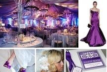 Elegant Purple Weddings / Ideas for your dreamed Wedding all in PURPLE!