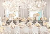 Classy White Weddings / Ideas for your dreamed Wedding all in WHITE!