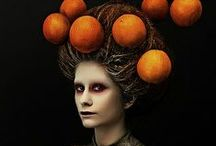 Ladies with funny head decorations / by Pia Nyström