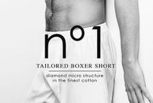 Nº1 TAILORED BOXER SHORT / nº1 | The Perfect Son. The best boxer short in the World is the result of a production process that adapts to the twenty first Century the excellence and traditions of classic shirt making. The best European textiles in the hands of the best craftsmen of Barcelona. Carefully ironed, folded, scented and packed to be the finest of gifts. A serial number that makes each piece unique.
