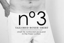 Nº3 TAILORED BOXER SHORT / nº3 | The Perfect Son. The best boxer short in the World is the result of a production process that adapts to the twenty first Century the excellence and traditions of classic shirt making. The best European textiles in the hands of the best craftsmen of Barcelona. Carefully ironed, folded, scented and packed to be the finest of gifts. A serial number that makes each piece unique.
