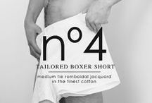 nº4 TAILORED BOXER SHORT / nº4 | The Perfect Son. The best boxer short in the World is the result of a production process that adapts to the twenty first Century the excellence and traditions of classic shirt making. The best European textiles in the hands of the best craftsmen of Barcelona. Carefully ironed, folded, scented and packed to be the finest of gifts. A serial number that makes each piece unique.