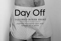 DAY OFF. TAILORED BOXER SHORT / Day Off | The Perfect Son. The world's only athletic boxer shorts is the result of a production process that adapts to the twenty first Century the excellence and traditions of classic shirt making.  The best European textiles in the hands of the best craftsmen of Barcelona. Carefully ironed, folded, scented and packed to be the finest of gifts. A serial number that makes each piece unique.
