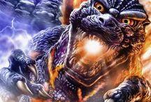 Godzilla / by Medical Study Gaming Apps
