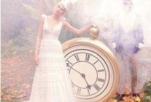 "Alice in Wonderland Weddings / Ideas for your dreamed wedding with the theme ""Alice in Wonderland""."
