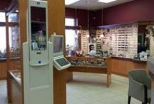Our Office in Aurora / The entire Insight Eyeworks collection is located at our optometry office in Aurora