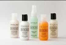 Feel My Hair / Angela Cosmai's all natural and botanical hair care line, Feel My Hair!
