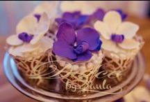 Orchid cupcake * Dulce by Paula