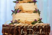 Nature-inspired wedding cake * Dulce by Paula / Nature-inspired wedding cake