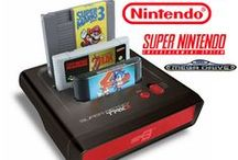 Super Retro TRIO / The Super Retro Trio plays Nintendo NES games, Nintendo SNES games and SEGA GENESIS / SEGA MEGA DRIVE games directly from the original retro games cartridges!  http://www.funstock.co.uk/super-retro-trio-gaming-console