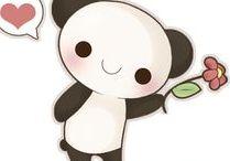 Kawaii is all you need! / Kawaii (かわいい) illustrations and GIFs - Sanrio, San-x, Pusheen, Emily's diary, Japanloverme / Little Miss Paintbrush, Kanahei, Molang, Moomin, streetcherub, Shinzi Katoh, Luli Bunny, Yoyo the ricecorpse, chibird