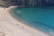 Serifos Beaches and more / Amazing sandy beaches! Megalo Livadi, Livadakia, Avessalos, Platis Gialos, Kalo Ampeli, Lia, Koutalas beach, Sykamia, Ganema, Agios Sostis, Psili Ammos, Vagia