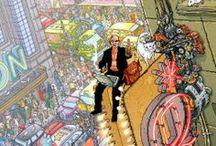 graphic novels/comic books