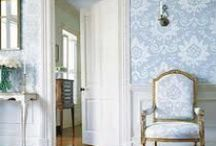 Lovely Wallpaper / Lovely Wallpaper to go in a Shabby Chic-style Bedroom