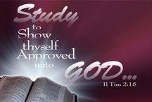 BIBLE STUDIES / by In His Grace (Debbie)