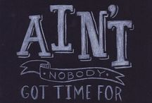 Chalkboard Designs and Fonts / It's all the rage.