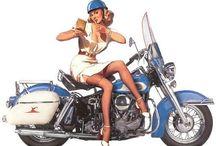 Harley pin up
