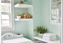 Laundry Room Makeovers & Decor