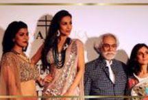 ICW 2014 - Malaika Arora Khan & Nimrat Kaur Walk for Rina Dhaka