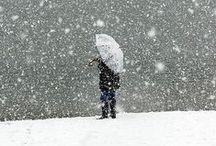 Schneegestöber / Winterwonderland