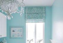 Wandfarben / Räume gestalten durch Farbe