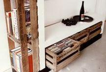 Alte Weinkisten / ...