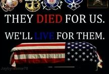 AMERICA'S FALLEN HERO'S / The ones who gave it all for our freedom and safety.   / by In His Grace (Debbie)