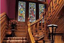 Viktorianische Häuser / und Einrichtung