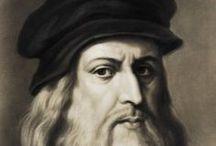 Ea: Leonardo da Vinci / Leonardo di ser Piero da Vinci (Vinci, 15 aprile 1452 – Amboise, 2 maggio 1519) è stato un pittore, ingegnere e scienziato italiano.