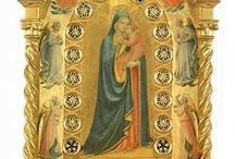 Ea: Fra Angelico / Giovanni da Fiesole, al secolo Guido di Pietro (Vicchio, 1395 circa – Roma, 18 febbraio 1455), detto il Beato Angelico o Fra' Angelico