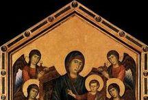 Ea: Cimabue / Cimabue, pseudonimo di Cenni (o Bencivieni) di Pepo (Firenze, 1240 circa – Pisa, 1302)