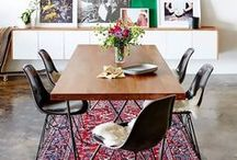 Dining Spaces / Table settings and dining rooms to inspire your own eating area.