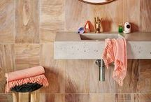 Bathrooms & Powder Rooms / The most stylish bathrooms on the internet, from elegant hardware to perfect bath tubs and inspiring sinks.
