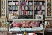 Libraries & Bookcases / Libraries and bookcases to inspire your home reading nook.
