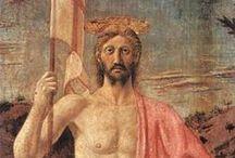 Ea: Piero della Francesca / Piero di Benedetto de' Franceschi, noto comunemente come Piero della Francesca (Borgo Sansepolcro, 1416/1417 circa – Borgo Sansepolcro, 12 ottobre 1492), è stato un pittore e matematico italiano.
