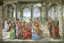 Ea: Domenico Ghirlandaio / Domenico Bigordi, detto il Ghirlandaio (Firenze, 1449 – Firenze, 11 gennaio 1494)