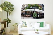 Paris Home Decor / If you cannot be physically in Paris, then why not bring Paris to you!  A collection of beautiful home decor items and ideas to bring one of the most beautiful cities into your home :)