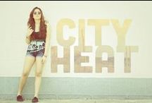 CITY HEAT - SUMMER 2013 Lookbook / Whether its in the city or on the beach, brave the heat in our summer tanks and tees.☼ http://neonislandclothing.com/lookbooks.php   Photographed by: Don Michael De Leon of Happyfingers Photography  Modeled by: Gabs Gibbs