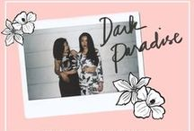 DARK PARADISE - Pre-holiday '14 Lookbook / Give in to our newest dark fantasy. We've got sultry separates to mix and match for your daily dose of tropical allure.    Get marooned on Neon Island.  http://neonislandclothing.com/lookbooks.php    Film Photography by: Denise San Jose  http://hedonissy.tumblr.com/  Modeled by: Gabs Gibbs and Wanda Chen  Art Direction/ Styling: Aira Abines Medina & Chi Loyzaga Gibbs