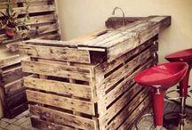 Euro pallets furniture