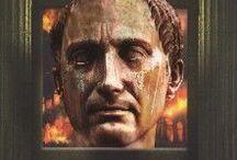 Romeinen / historische verhalen en informatieve boeken over het oude Rome en de Romeinen, de gladiatoren, ...
