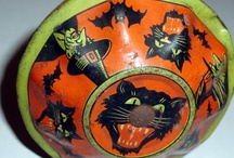 Vintage Halloween Noisemakers / Collection of Vintage Halloween Noisemakers