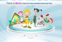 The Web Sites / I created web sites...