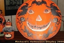 Decorating with Vintage Halloween Collectibles